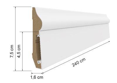 Battiscopa Estilo E501
