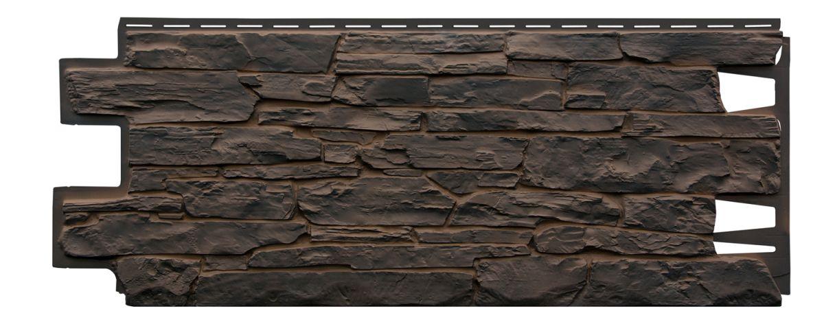 Pannello di facciata in PVC effetto pietra ardesia