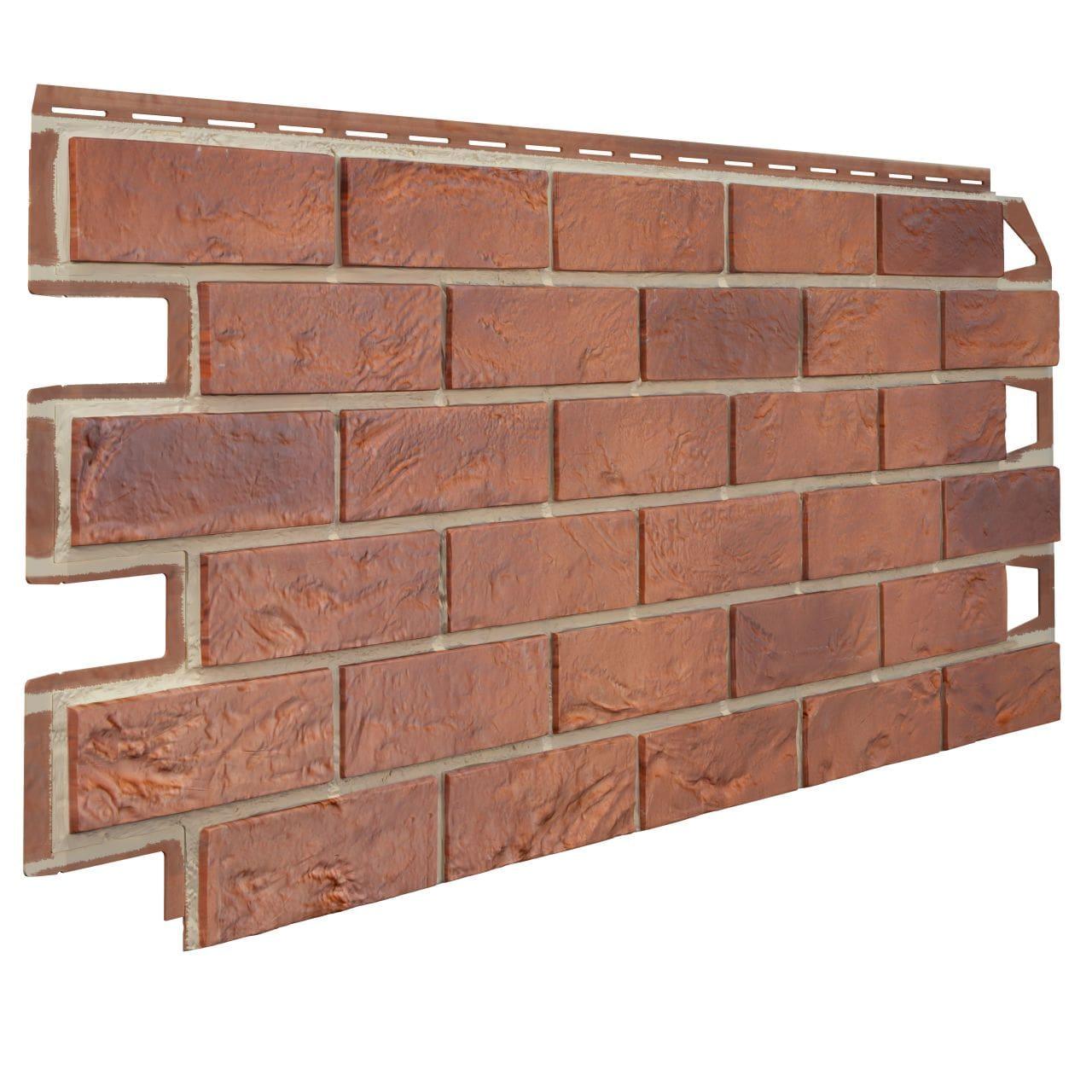 Pannello di facciata in PVC effetto MATTONE