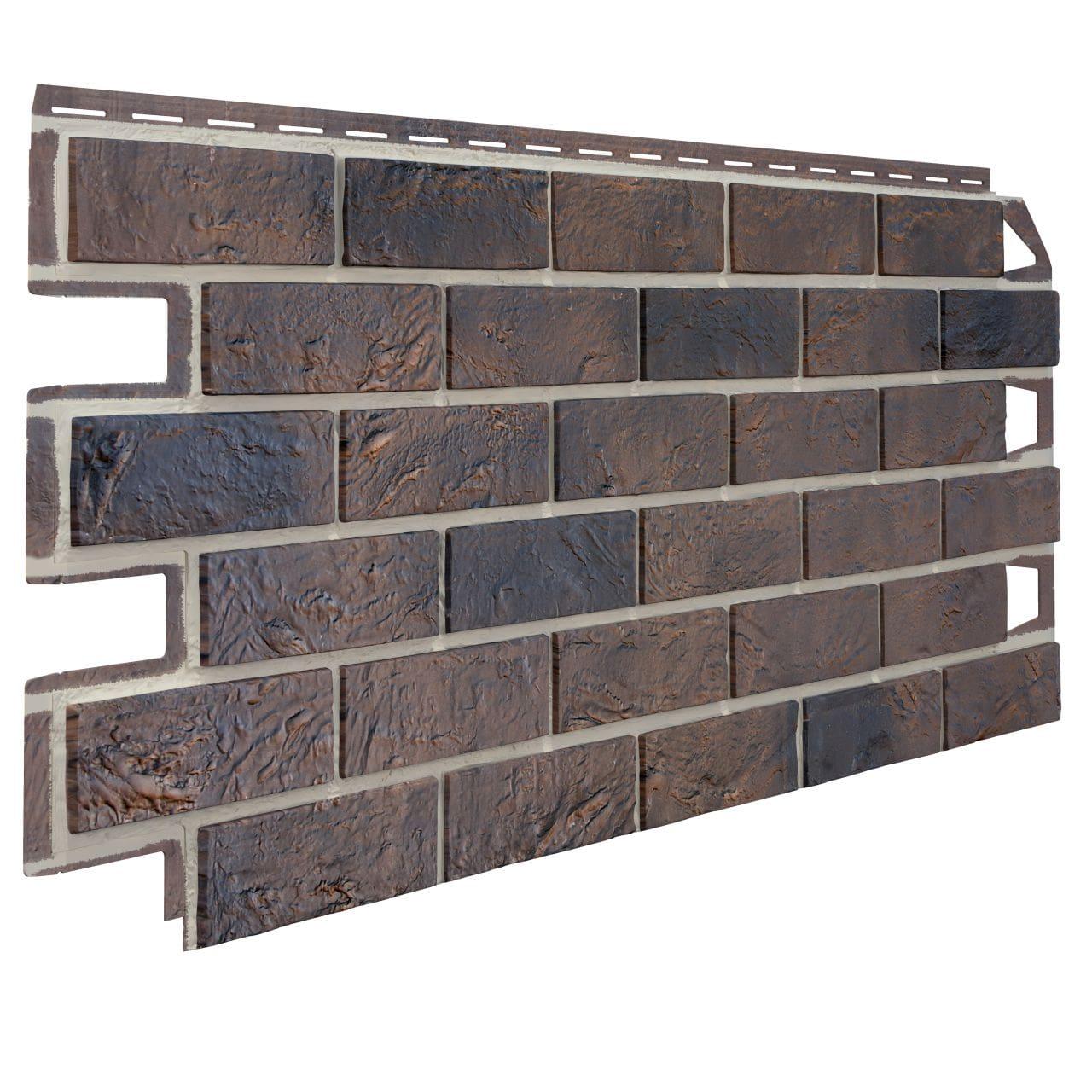 Pannello di facciata in PVC effetto pietra e mattone