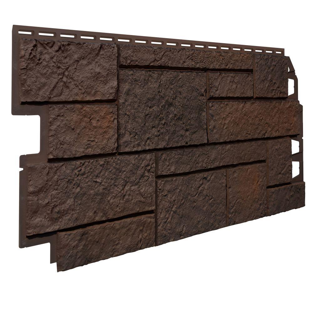 Pannello di rivestimento in schiuma di PVC effetto pietra