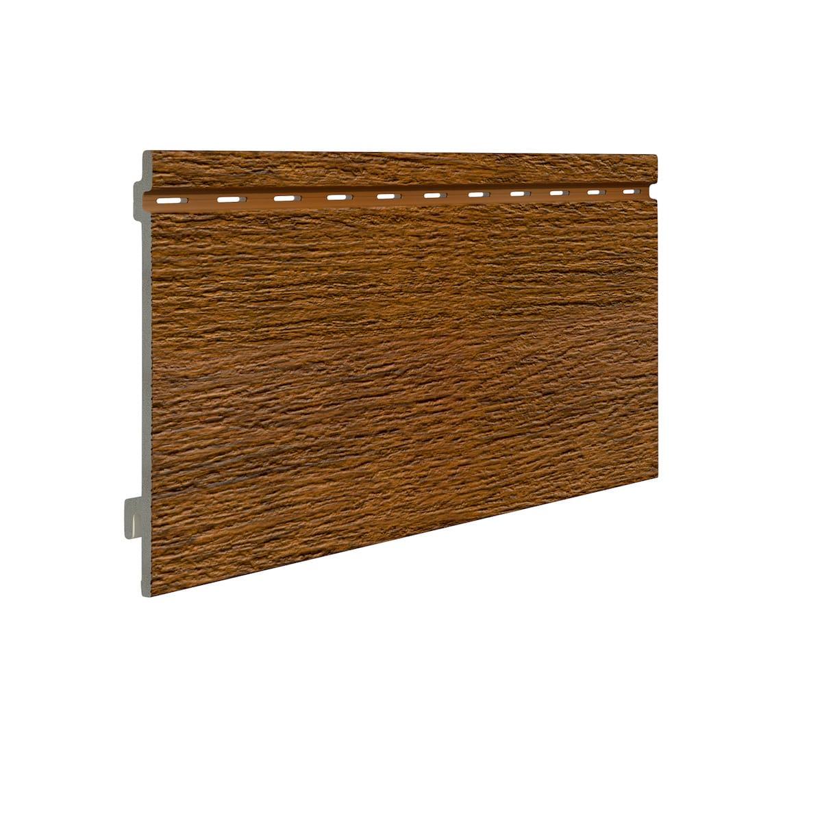 Pannello di rivestimento in schiuma di PVC effetto legno spazzolato