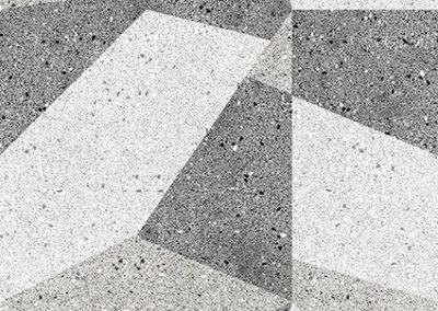 370 granite geometric greys